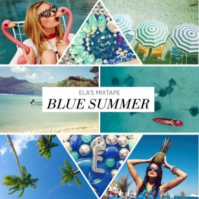 Ela's Mixtape - Blue Summer