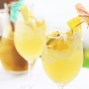 Summer Cocktails - Pineapple Sangria