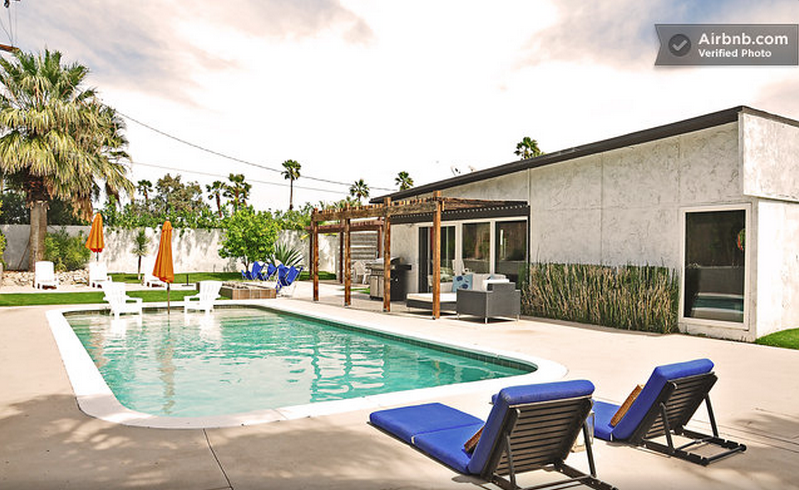 Mid Century Modern Home with Pool - airbnb