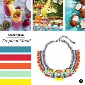 Color Trend :: Tropical Mood