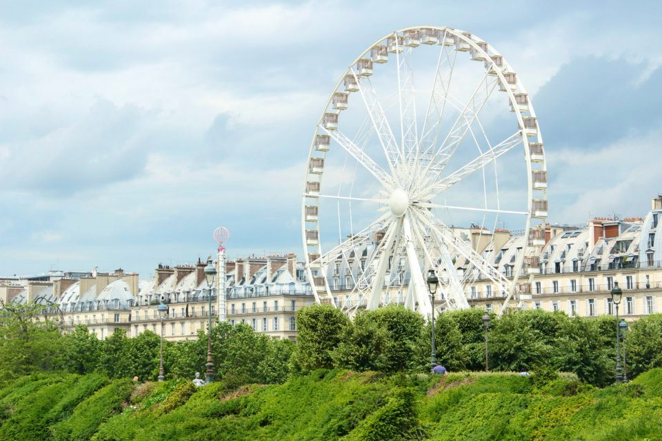 Travel Guide to Paris-rollercoaster