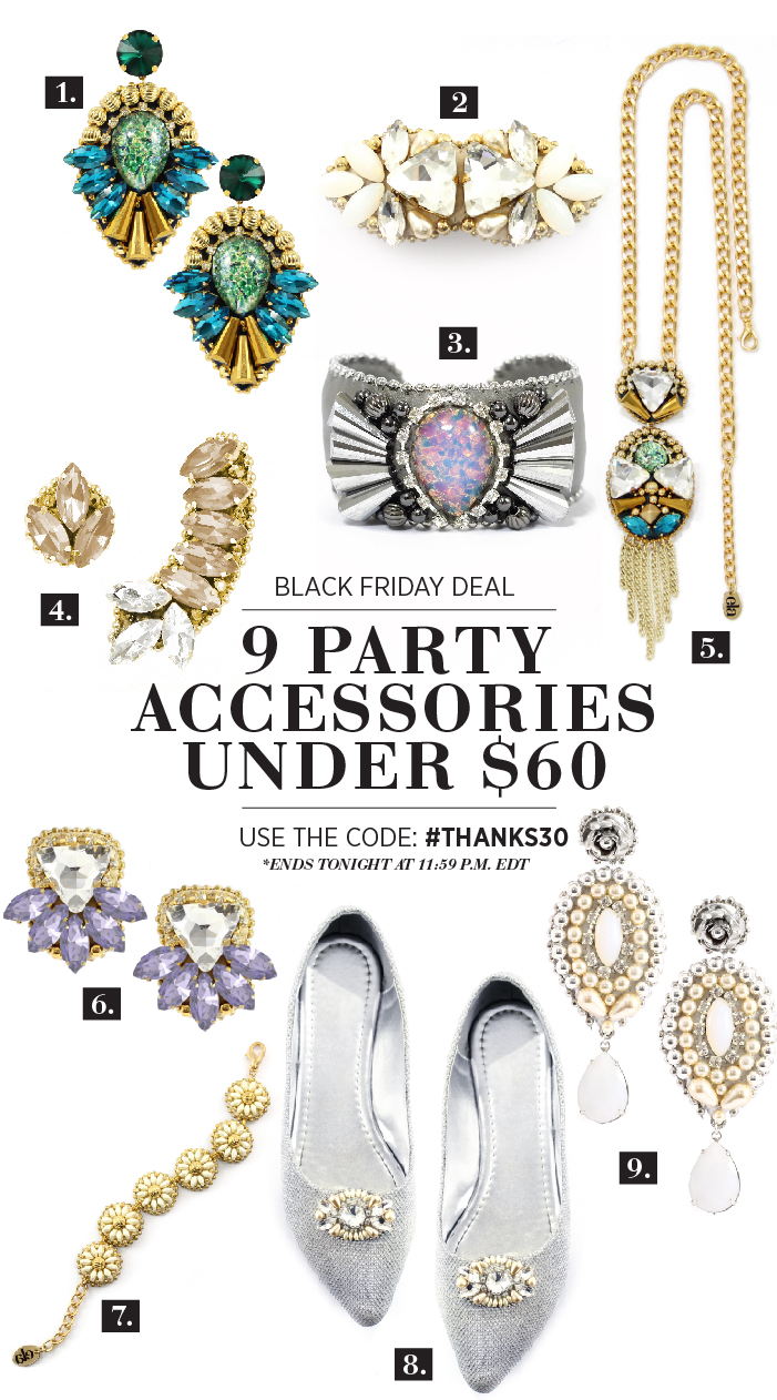 9 Party Accessories Under $60 | Black Friday
