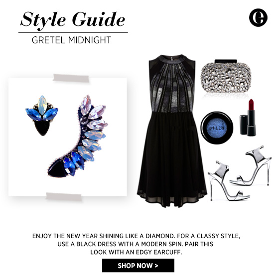 Style Guide - Wear an earcuff for New Year's Eve