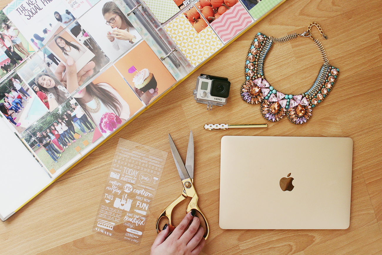 Project life and Alondra Necklace