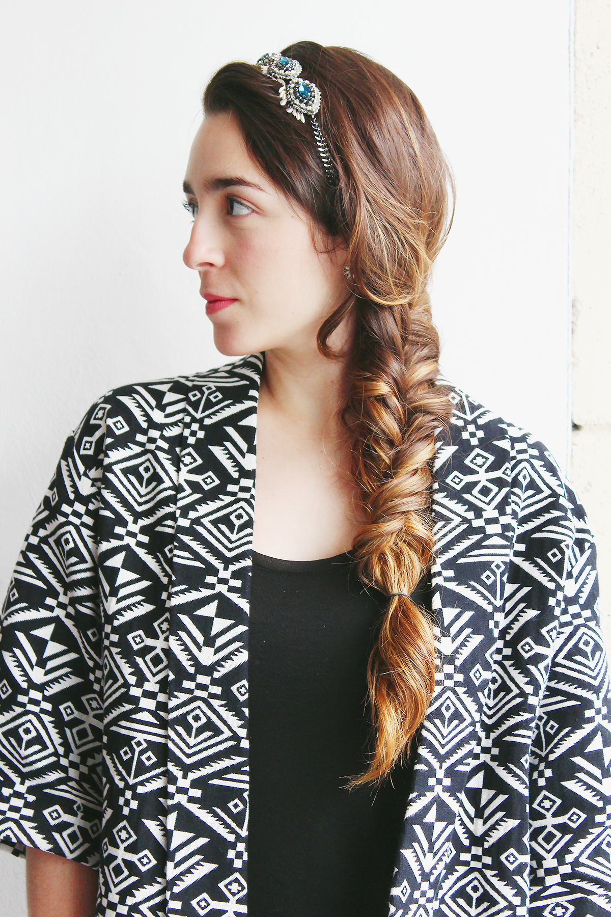 Bohemian Hairstyles | Fishtail Braid