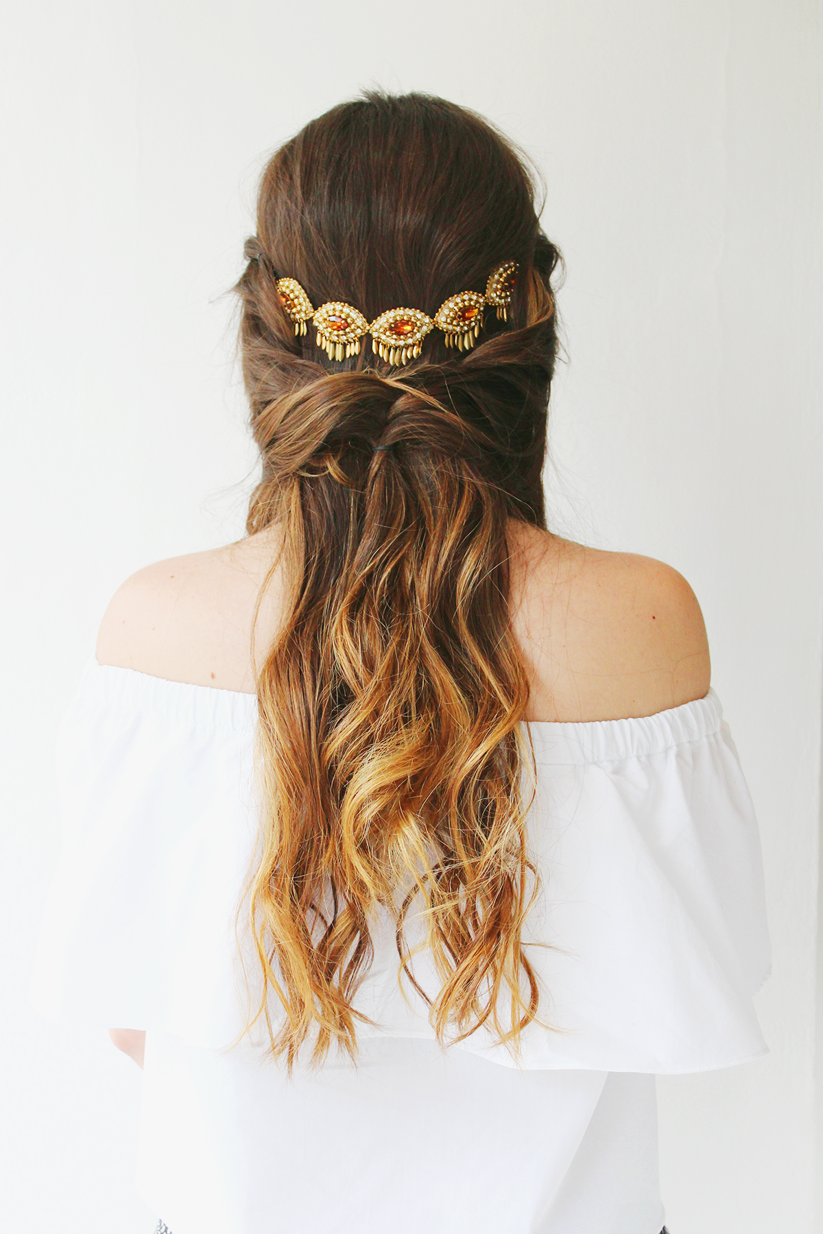 Bohemian Hairstyles | Romantic Waves